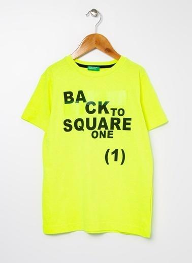 Benetton Tişört Renkli